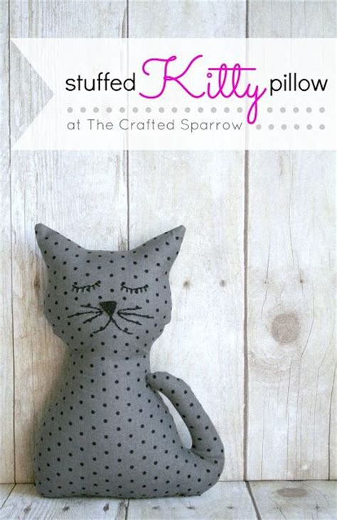 free sewing pattern cat doorstop 20 diy projects for cat lovers pretty designs