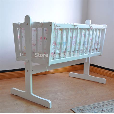 baby cradle bedding aliexpress com buy baby cradle bed quality solid wood
