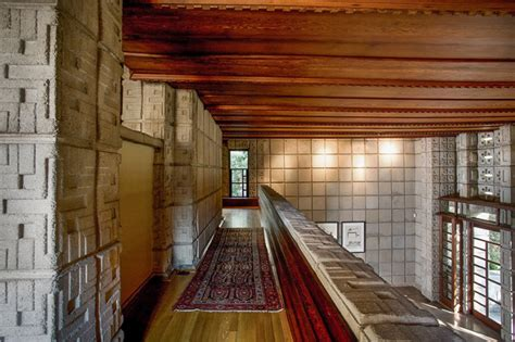 Millard House Design Frank Lloyd Wright S Iconic La Miniatura Millard House Hits The Market For 4 5 Million In