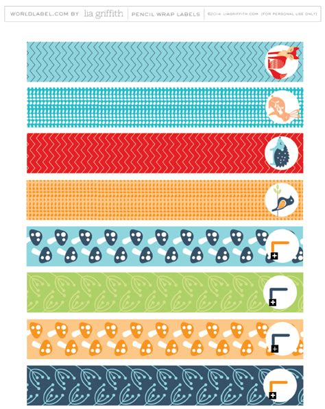 free printable pencil labels for your kids kids kid s back to school labels by lia griffith worldlabel blog