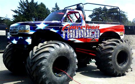 monsters trucks thunder motorsports truck ride truck