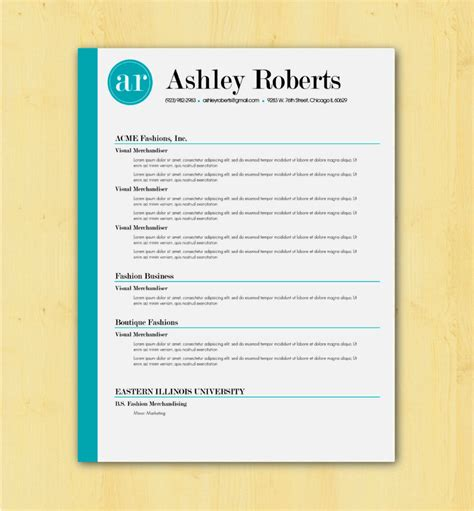 Resume Template by Fill In The Blank Resume Templates Resume Template