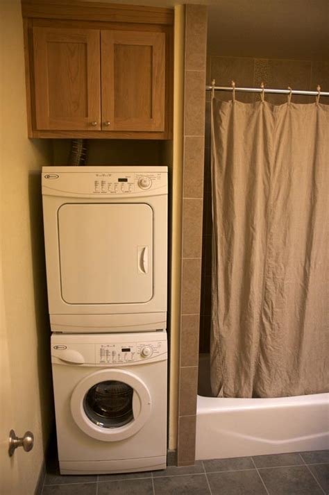bathroom ideas with washer and dryer bathroom remodel with stackable washer dryer cozy home