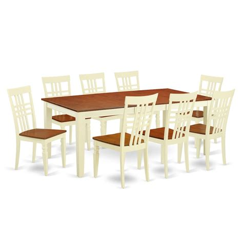 8 pc dining room set 9 pc dining room set with a dining table and 8 dining