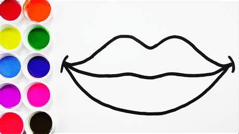 imagenes de boca juniors para dibujar faciles c 243 mo dibujar y colorear boca de arco iris arte y colores