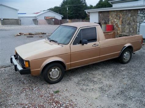 volkswagen rabbit truck 1982 buy used 1982 volkswagen rabbit diesel pickup in millers