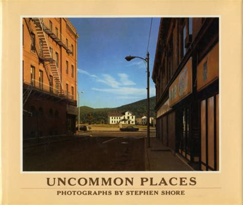 stephen shore books synopsis stephen shore s uncommon places the