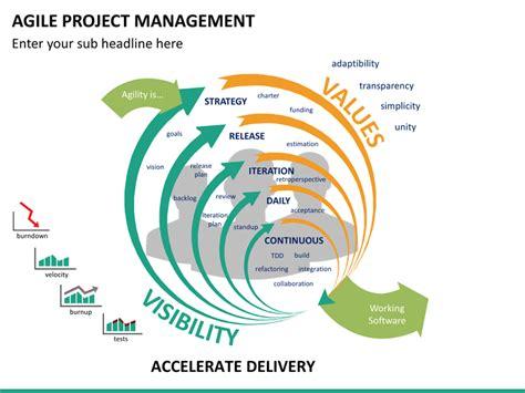 agile powerpoint template agile project management powerpoint template sketchbubble