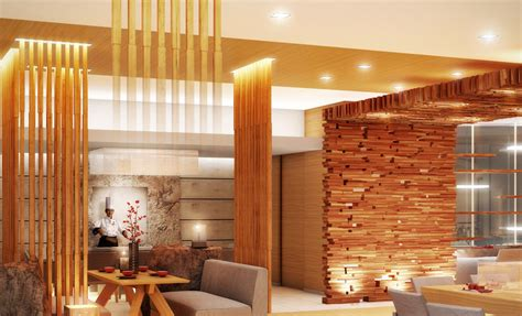 Japanese Wood Wall Design