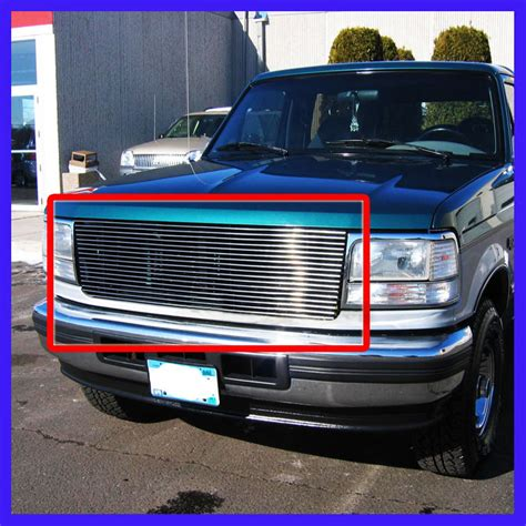 97 Bronco Made Usa For 1996 Ford Bronco Billet Grille Autos Post