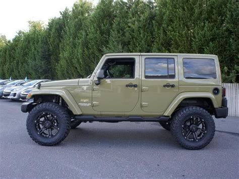 commando green jeep lifted 01 jeep wrangler 2013 commando green thread page