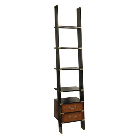 authentic models 96 in wooden library ladder bookcases