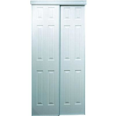 Truporte Closet Doors by Truporte 60 In X 80 In 106 Series Composite White
