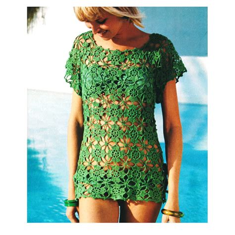 crochet cover up pattern free crochet cotton beach cover up pattern long sweater jacket