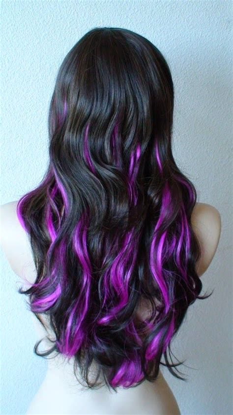 purple shoo for purple highlights blonde with purple highlights pretty purple highli hair