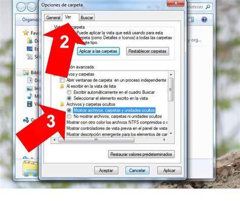 Ver Imagenes Ocultas Windows 7 | ver archivos y directorios ocultos windows 7 mayo 2018