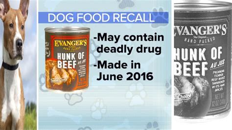 evangers food recall evanger s recalls 5 lots of hunk of beef pet food line abc news