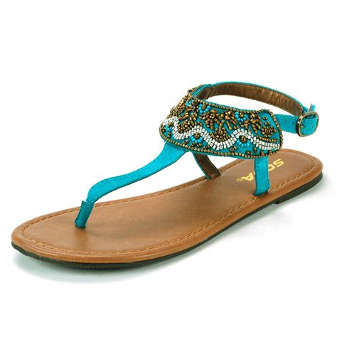 dressy flats shoes womens t sandals embroidered dressy flats adjustable