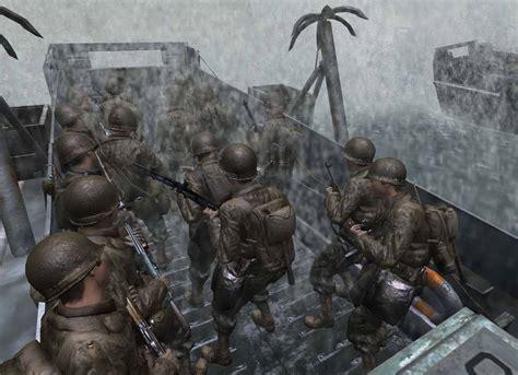 imagenes de videojuegos de guerra el desembarco de normand 237 a en los videojuegos hasta call