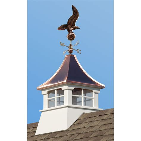 What Does Cupola by Accentua Charleston Cupola With Eagle Weathervane