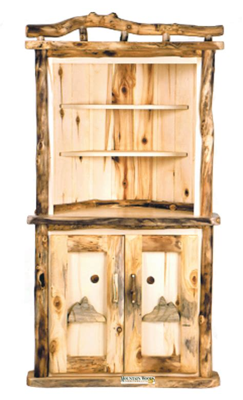 Handcrafted Pine Furniture - handcrafted rustic aspen log furniture and pine log