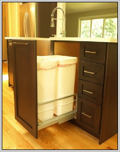Kitchen Cart With Trash by Kitchen Cart With Trash Bin Home Design Ideas