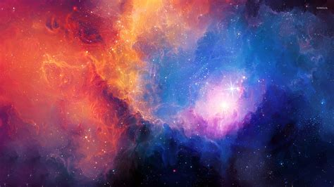 colorful universe wallpaper colorful nebula wallpaper space wallpapers 21963