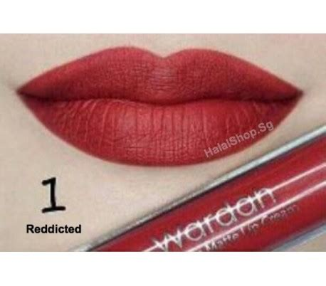 Wardah Lip Matte Original halal cosmetics singapore wardah exclusive matte lip 01 dicted more brands available