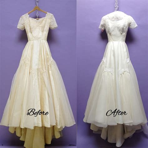 wearing a vintage wedding gown vintage style wedding dress