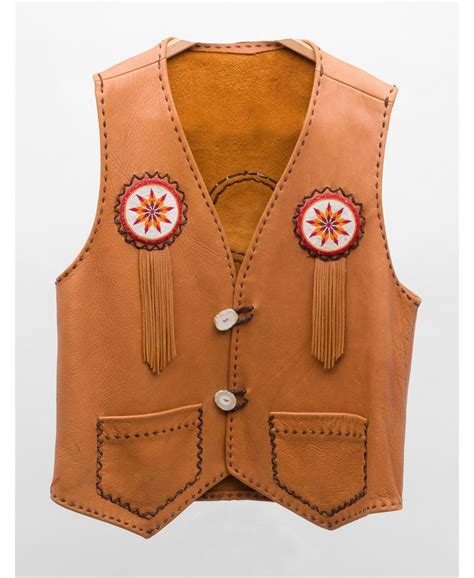 Handmade Vests - handmade leather vest authentic turn of the century