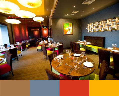 30 restaurant interior design color schemes