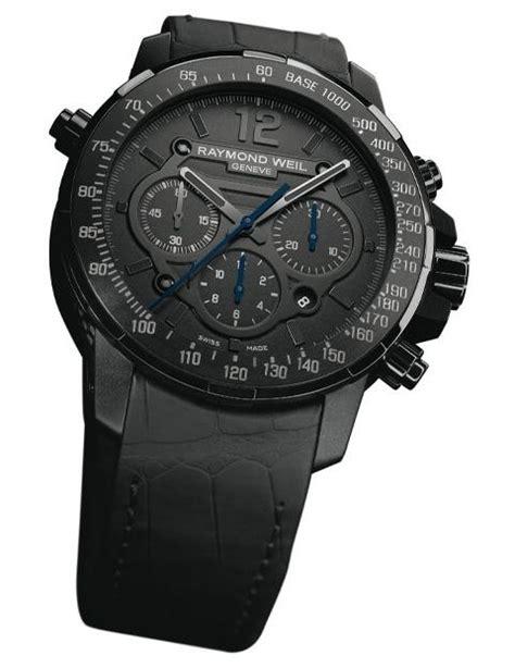 Tag Heuer Chronograph Ss Black Swiss Eta 11 raymond weil nabucco rivoluzione black chronograph