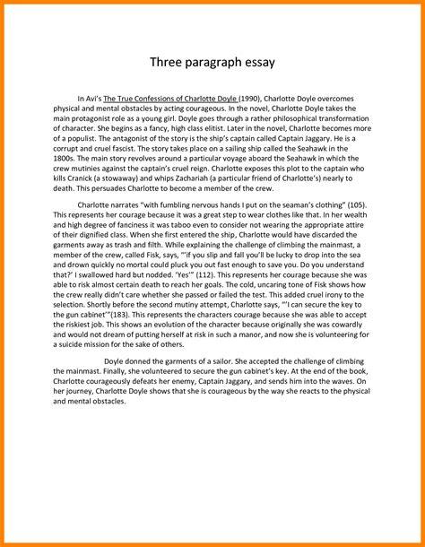 one paragraph essay sle 5 1 paragraph essay format 3canc