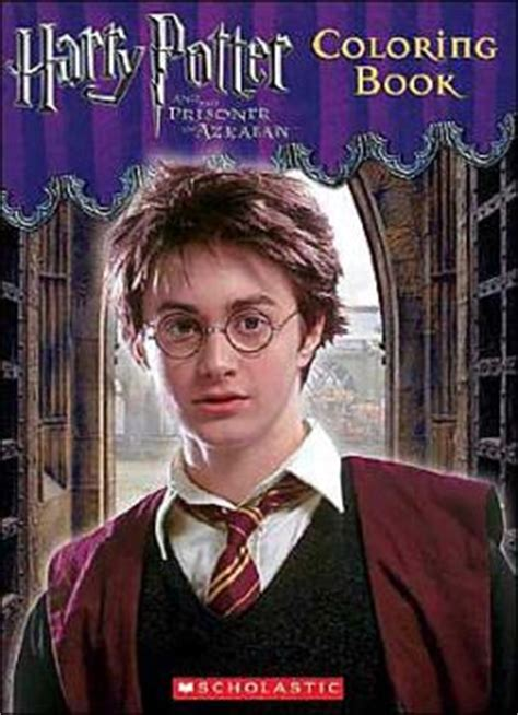 harry potter coloring books barnes and noble harry potter and the prisoner of azkaban coloring book by