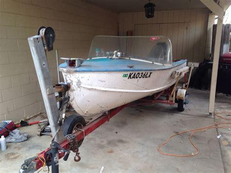 richline boats 15 ft 1960 richline aluminum boat tct classifieds