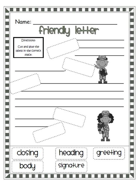 Friendly Letter Template friendly letters new calendar template site