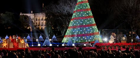 obamas sing dance at national christmas tree lighting