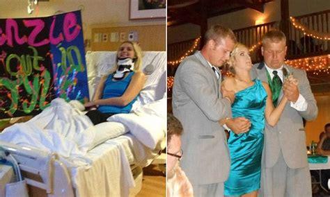 Wedding Aisle Crash by Mackenzie Gorden Bridesmaid 18 Paralyzed In Car Crash