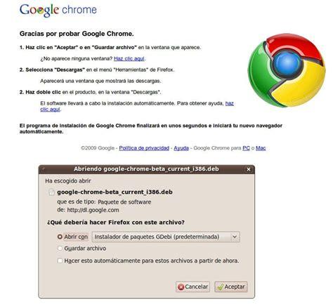 chrome linux google chrome beta para linux disponible 187 muylinux