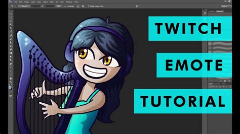 How To Make Emotes For Twitch Partners Affiliates Tutorial Youtube Twitch Emote Template
