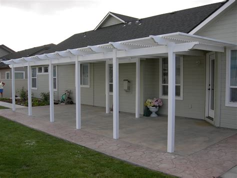 Patio Covers Images Patio Covers White
