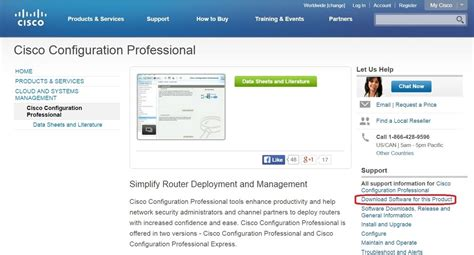 cisco dowload cisco configuration professional ccp ccna