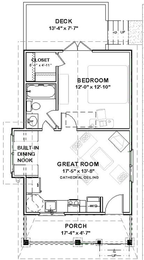 14 Best Images About 20 X 40 Plans On Pinterest Guest 20 X 20 Guest House Plans