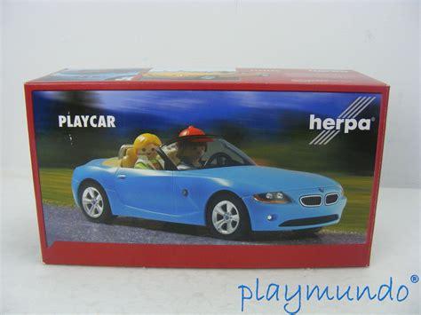 playmobil bmw playmobil bmw color azul coche realizado por herpa para