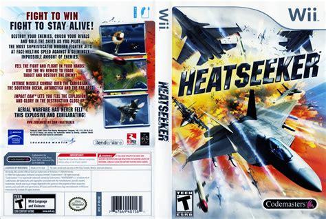 dvd format wii games heatseeker nintendo wii game covers heatseeker dvd
