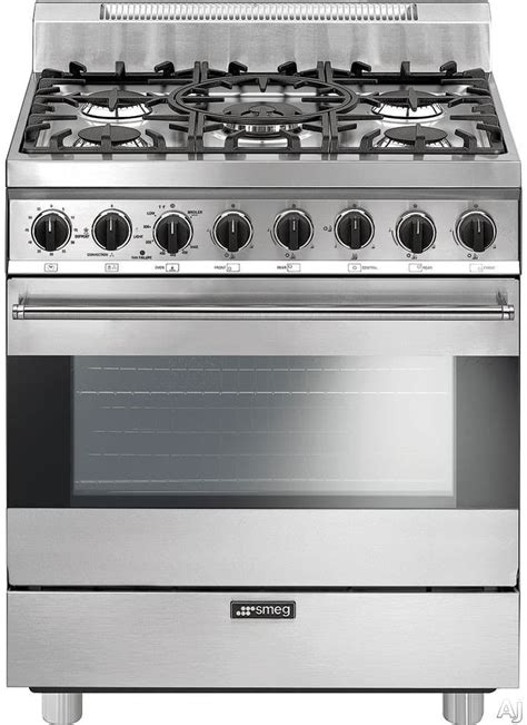 Oven Gas Hock No 3 smeg c30ggxu1 30 inch freestanding gas range with 3 5 cu