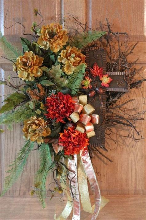 Autumn Wreaths Front Door Beautiful Fall Wreaths For Front Door Autumn Cross Front Door Twig Wreath Free By