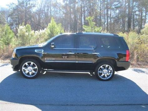 Used Cadillac Escalade Hybrid by Sell Used 2009 Cadillac Escalade Hybrid In Pooler