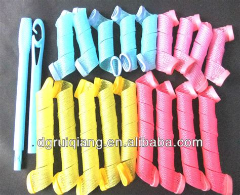 Different Types Of Curlers For Hair by 18 Pcs Magic Hair Curlers Rollers Different Types Of