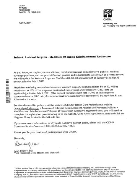 Insurance Letter Definition Sle Letter To Health Insurance Company For Reimbursement Sle Letter To Insurance Company